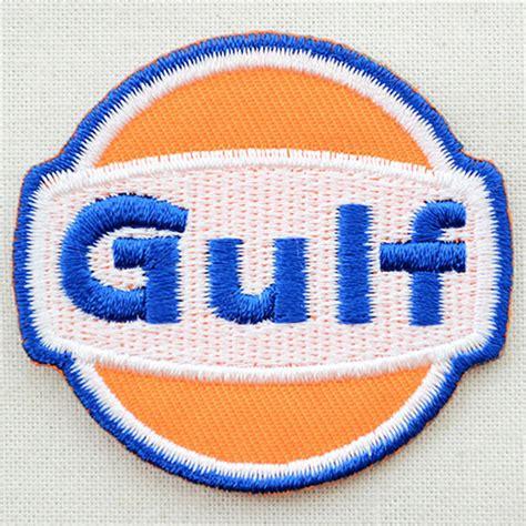 gulf logo lazystore logo patch gulf gulf lgw 137 iron