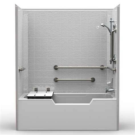 ada compliant bathtub commercial ada compliant tub shower acessinc com