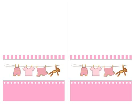 show card templates baby shower free printables how to nest for less