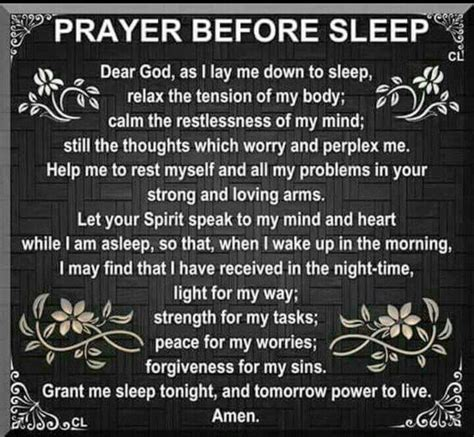 prayer before bed catholic god sleep and my jesus on pinterest