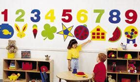 preschool wall decoration daycare decor decorating vinyly wall murals acrylic