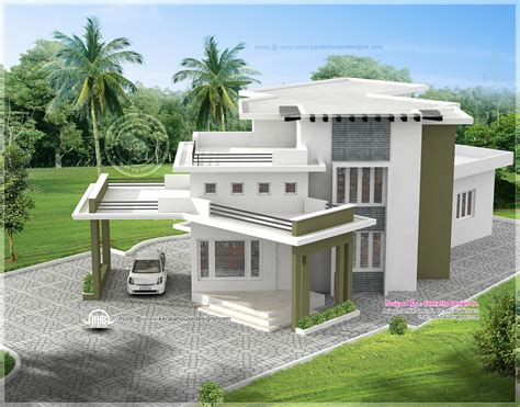 different house designs and floor plans 5 different house exteriors by concetto design kerala home design and floor plans