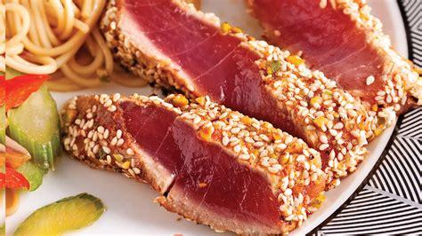 Longe De Thon Grillé recette thon grill ventrche de thon grille au