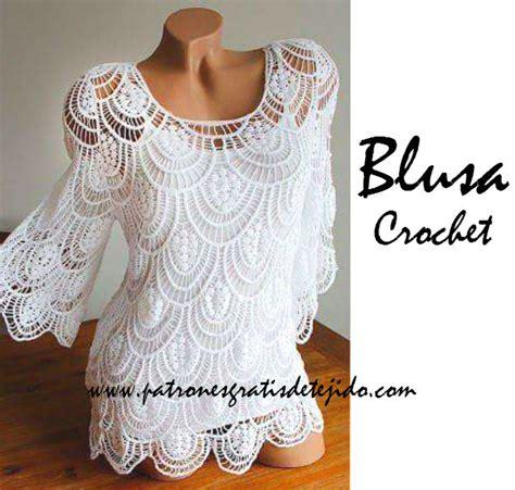 aprende a tejer blusas a crochet paso a paso learn knit easy crochet blusa de encaje a crochet paso a paso con video