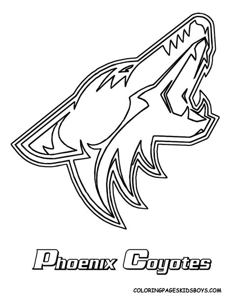 nhl devils logo coloring pages coloring pages
