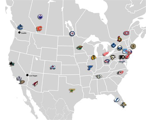 nhl map examining future nhl expansion scenarios nhl the sports quotient