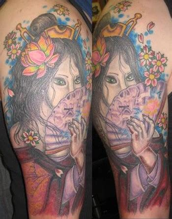 evil geisha tattoo evil geisha by brian gallagher tattoonow