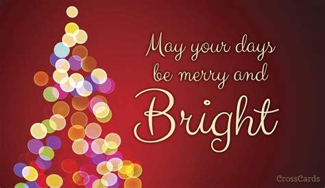 days  merry  bright ecard  christmas cards