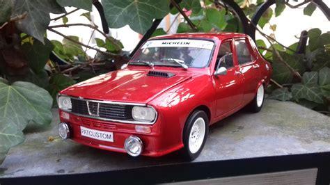 renault 12 gordini renault 12 gordini kit carrosserie antibrouillard rouge