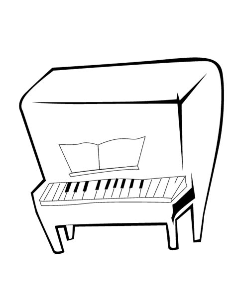 piano coloring pages printable coloring pages