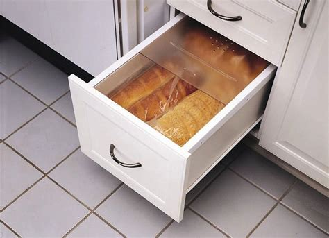 easy view cabinet organizers bread storage kitchen storage solutions 7 easy