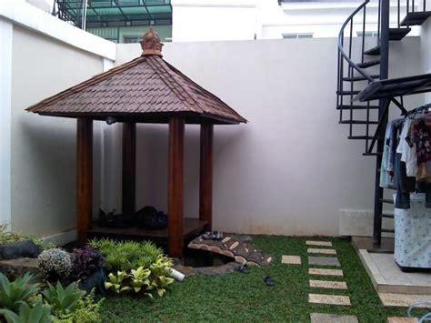 Jasa Pembuata Taman gazebo inspirasi rumah