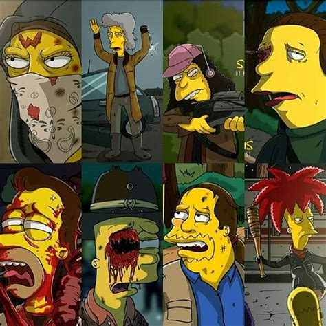 ottoman simpsons the walking dead s edition the simpsons your meme