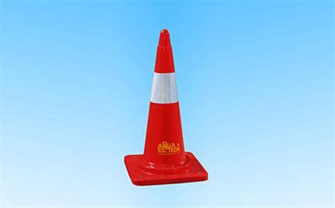 plastic traffic cones road safety cones  india aquatech