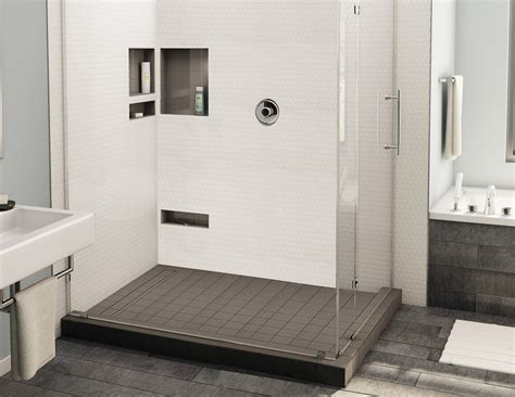 bodengleiche dusche größe redi trench shower pan 30 x 48 left linear drain right