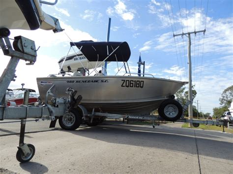 used boat trailers for sale in sc used 2017 quintrex 460 renegade sc offroad trailer with
