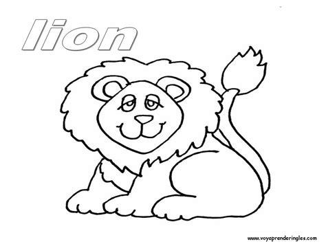 imagenes ingles para niños para colorear animales salvajes para colorear en ingles imagui
