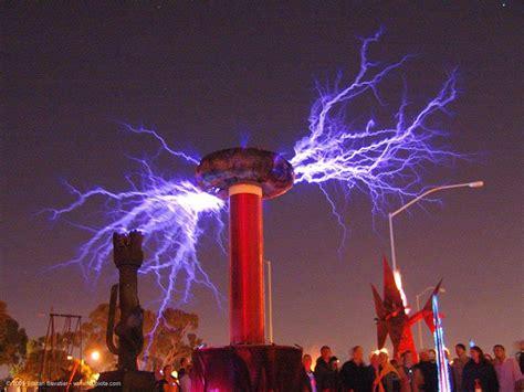 Tesla Voltage Big Tesla Coil Pixdaus