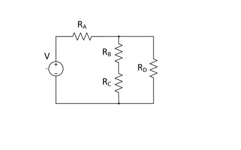 power across a resistor for the dc cicuit show below find the voltage and chegg