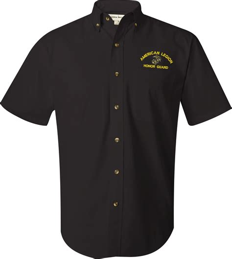 Handmade Dress Shirts - united states marine corps custom embroidered featherlite