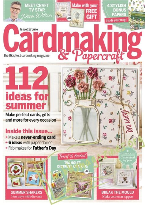 Cardmaking And Papercraft Back Issues - cardmaking and papercraft