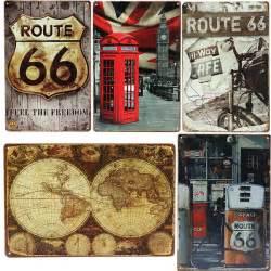vintage garage decor tin sign vintage metal plaque home bar cafe garage pub