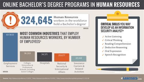 human resources degree bachelors in human resources degree programs