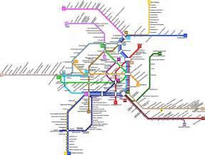 metro transfer color vienna transportation map austria joao leitao travel