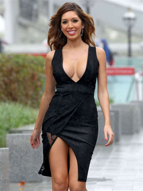 Dress Farah farrah abraham in black dress out in