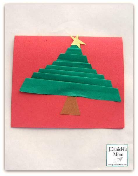 Folded Paper Cards - handmade cards folded trees jdaniel4s