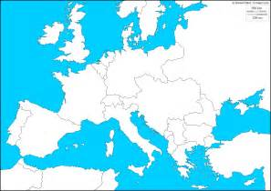 Wwi Map Of Europe by Blank Map Of Europe During Ww1 Images