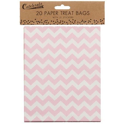 Paperbag Uk 2113 20 paper treat bags 20pk picnic essentials b m