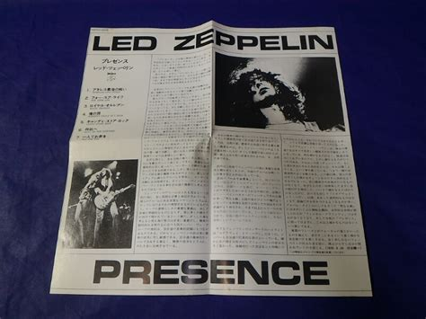 Cd Led Zeppelin Presence Obi led zeppelin presence japan 1st cd 1987 32xd 628 ebay