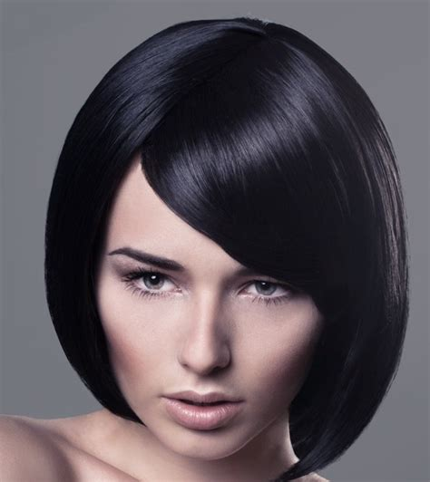 a line bob with swoopy bangs 224 best images about bob haircuts on pinterest lace
