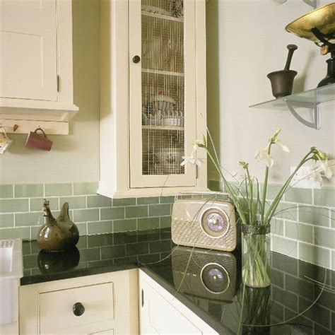 vintage kitchen tile backsplash retro shaker style kitchen kitchen design decorating ideas housetohome co uk
