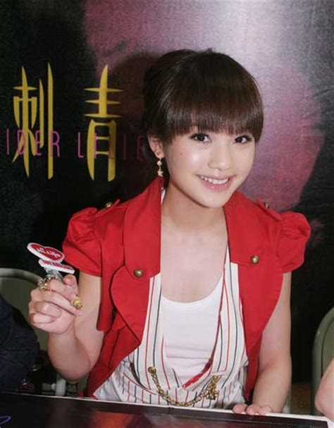 film china isabella rainie yang and isabella leong promote spider lilies in