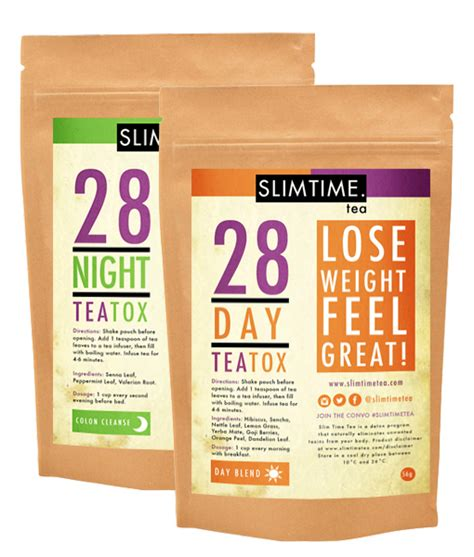 Tgt Slim Tea Tox slim time 28 day teatox combo recomended