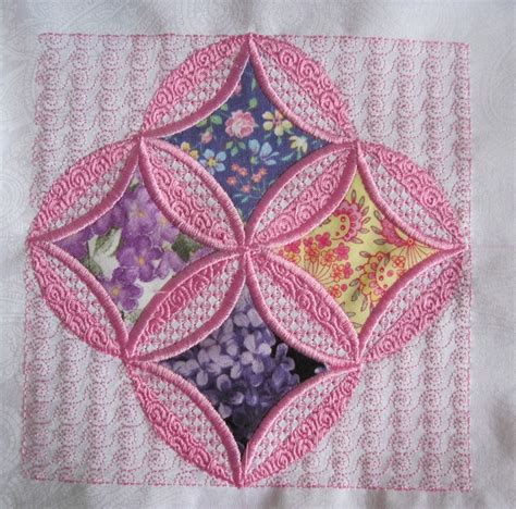 58 best images about mock cathedral window quilt how to on