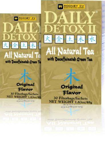 Daily Detox Drink Packets by Daily Detox Original Flavor Caffeine Free 30 Bag 8 15ea