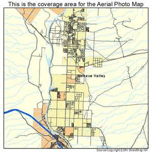 aerial photography map of mohave valley az arizona