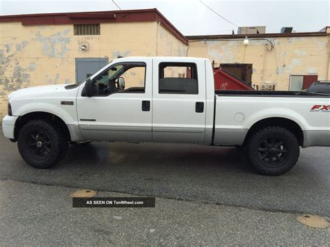 ford     duty lariat crew cab fx zf  speed manual