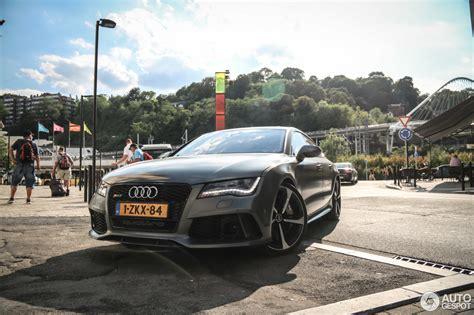 Audi Rs7 Gewicht by Audi Rs7 Sportback 23 September 2015 Autogespot