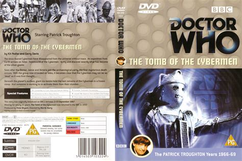 Dvd Who Are You the of the cybermen r2 dvd official style