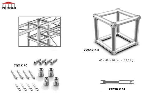 traliccio dwg 7qx40 trusses cuadrados 40 cm trusses de aluminio peroni