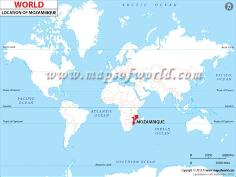 mozambique in world map image gallery mozambique location