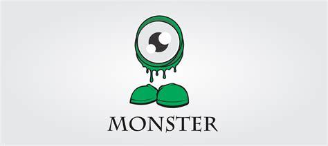 Monsters Logo 1 logo design and illustration ehroo