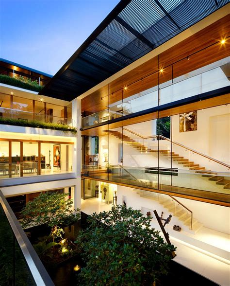 guz architects the tropical dalvey road house in singapore by guz