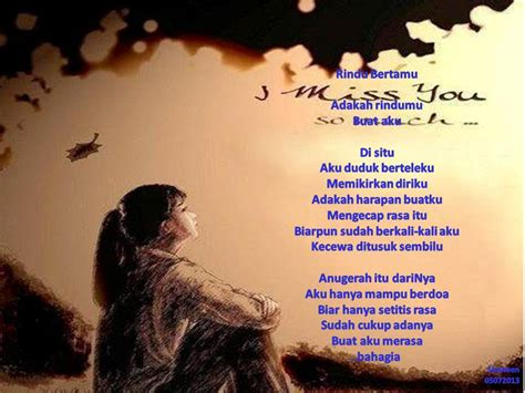 kumpulan puisi romantis rindu cinta info unik april