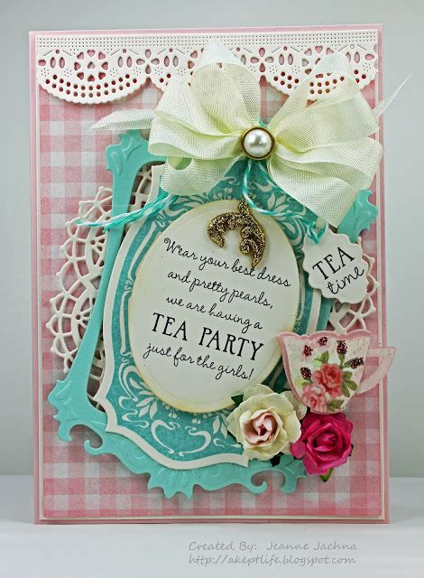 A Kept Life Wmsc 95 Tea Party Recollections Invitation Template