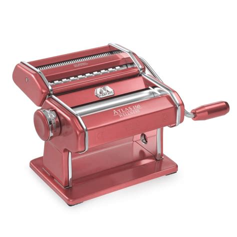 Atlas Marcato marcato atlas 150 pink pasta maker s of kensington